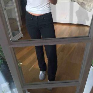 Svarta bootcut jeans från Levis. Nästan aldrig använda så i stort sett som nya🤩W24L30