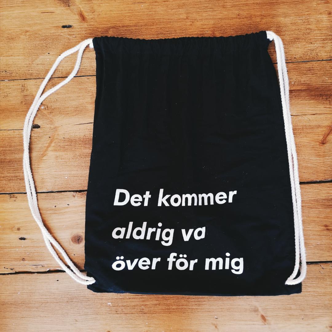 Väska med Håkan Hellström text!! Superfin . Övrigt.