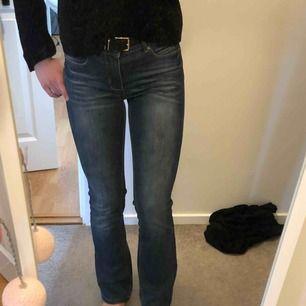 Bootcut jeans, bra skick!  Jag är ca 164cm, funkar nog ca160-170