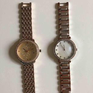 Klockor som knappast är använda, i nyskick. 59kr styck eller 100 för båda!💕