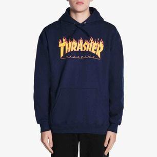Thrasher hoodie i stolek M Använd 5 gånger kanske Frakt tillkommer  äkta!!