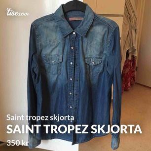 Knappt använd saint tropez skjorta str L