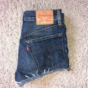 Levis shorts i strl 24/ XS,S. Mycket fint skick. 200kr+frakt