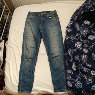 Jeans med lös passform och lite högre i midjan ❤️