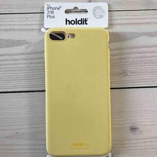Fint gult mobilskal i silikon☀️ Helt nytt!    Passar: iPhone 7 + 8 plus.  Köparen står för frakten.  Kan mötas i Göteborg