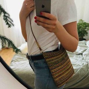 Snygg randig väska 👜