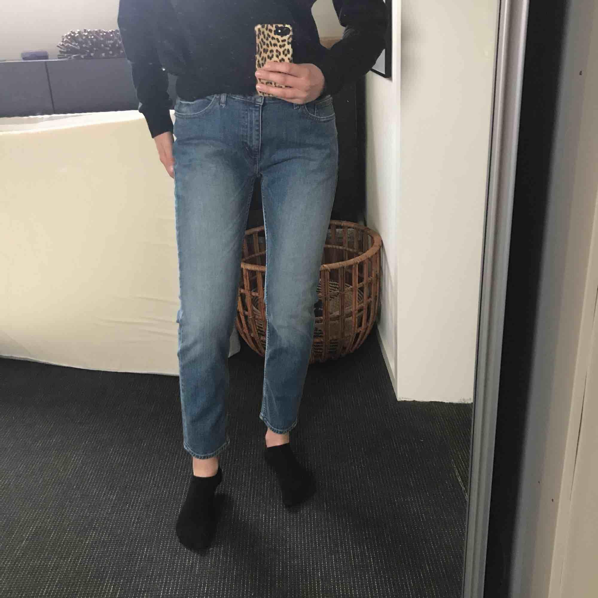 Helt nya Cheap monday jeans!! Sitter jätte bra på! Säljer dom pga att dom är förstora i midjan på mig💕. Jeans & Byxor.