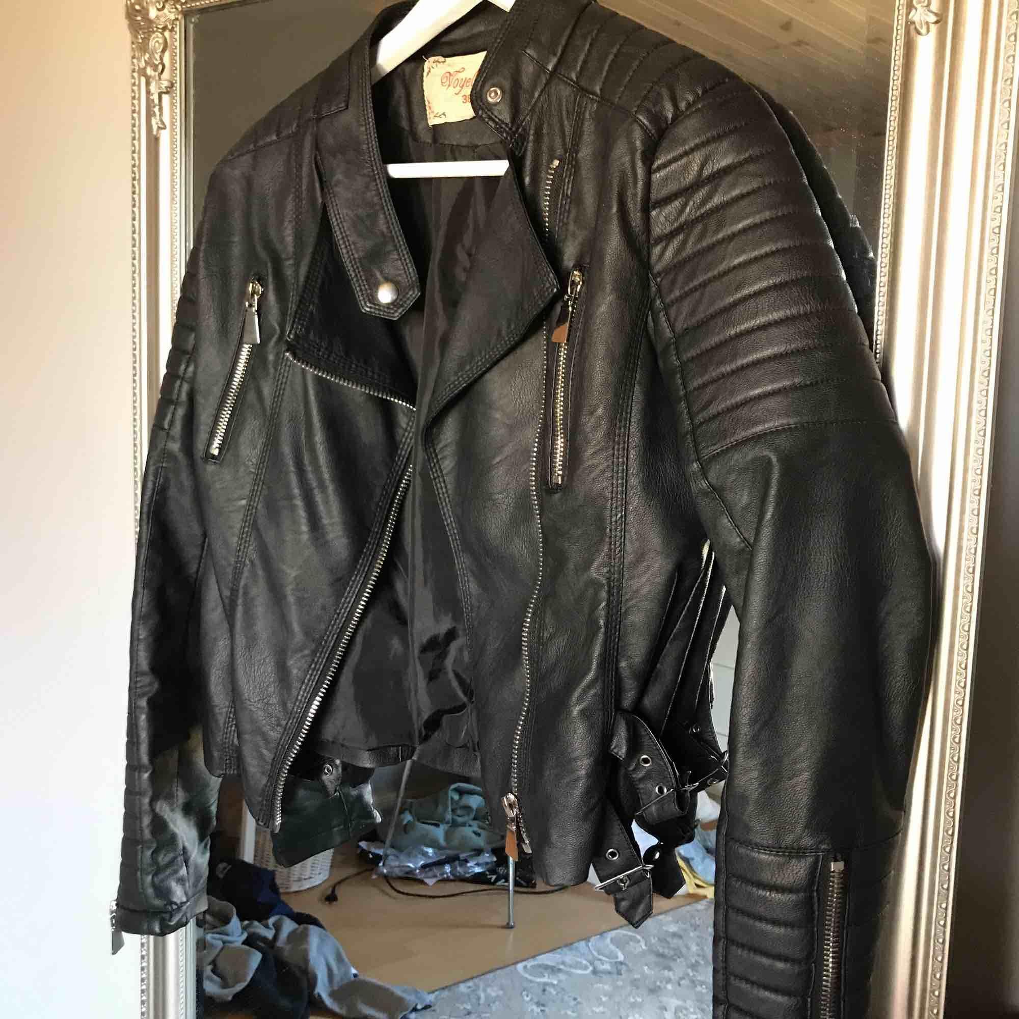 Moto Jacket från Chiquelle, skinnjacka,  Köparen står för frakt 🌟. Jackor.