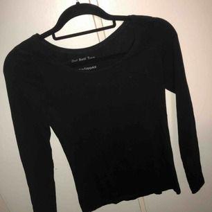 Helt vanlig svart långärmad tröja som alltid behövs i garderoben. Köpt i lager 157