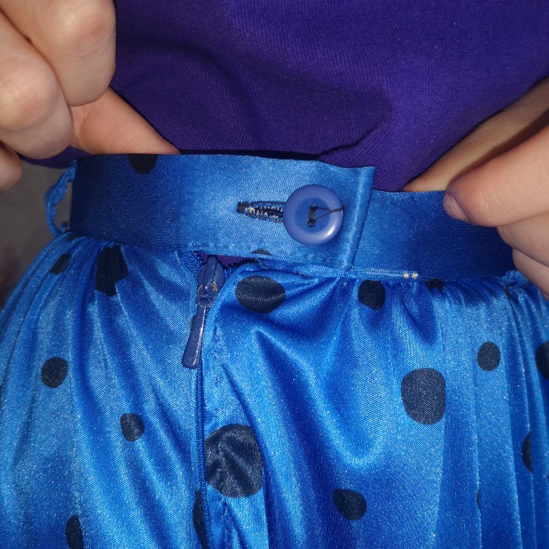Plisserad kjol från 60-talet MED FICKOR!! . Kjolar.