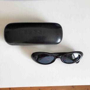 Äkta gucci solglasögon, vintage. De är supersnygga och i bra skick!