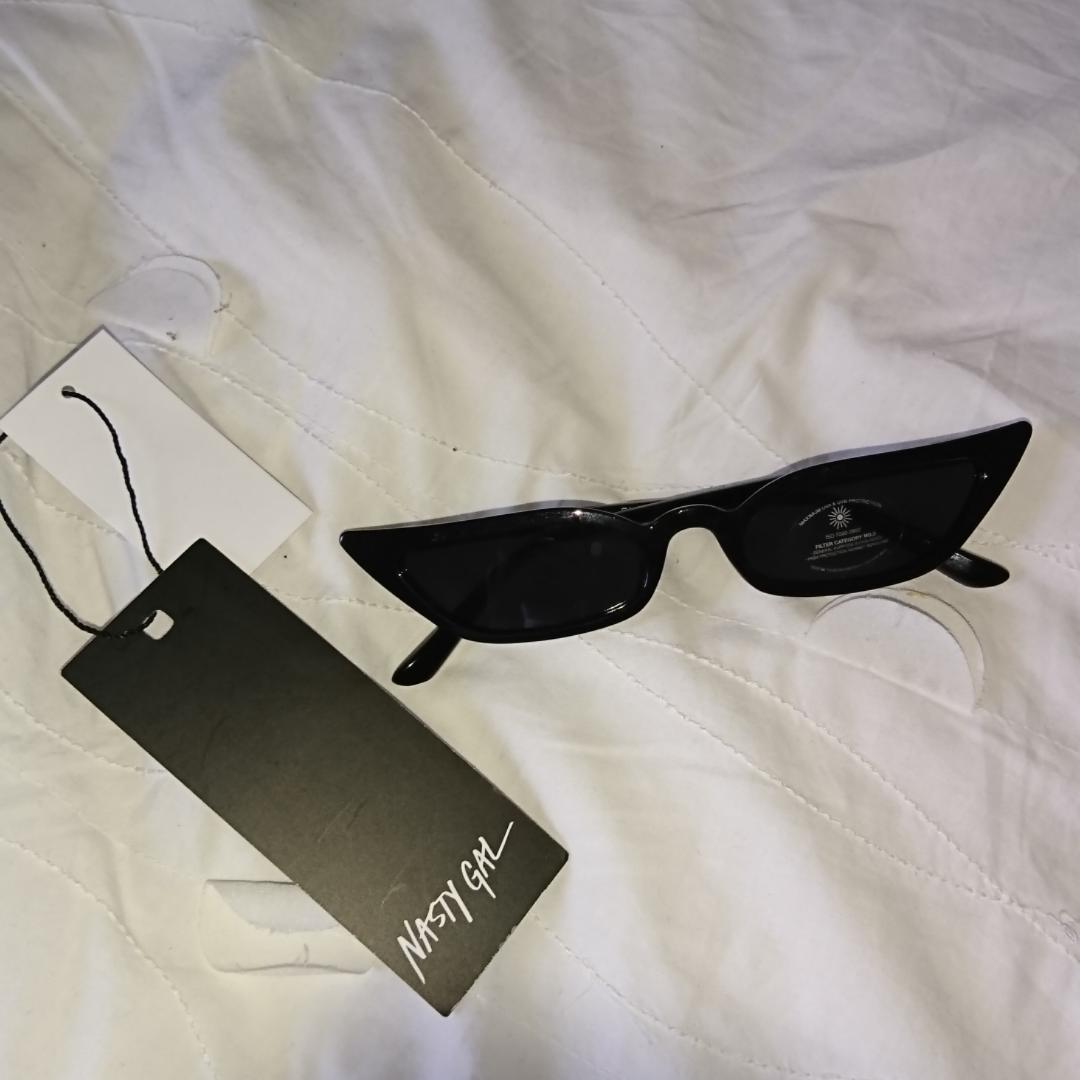 Helt nya trenduga glasögon från nastygal Frakt 9kr, betalning via swish . Accessoarer.