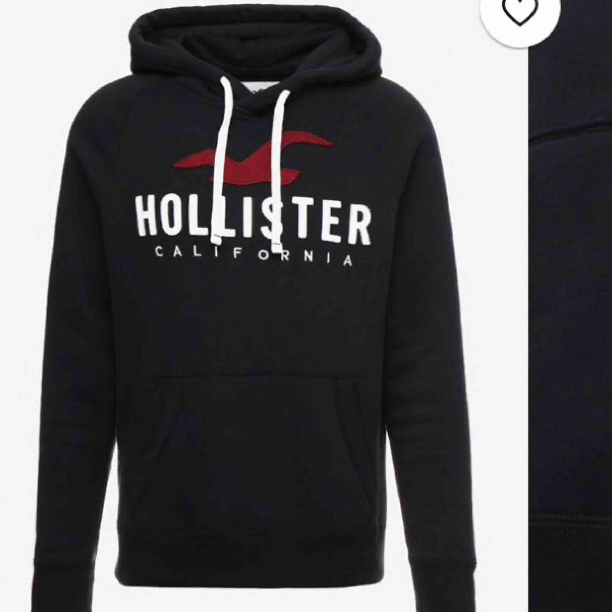 Hollister hoodie, bra skick. Huvtröjor & Träningströjor.