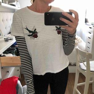 Långärmad tröja snygg att ha under T-shirt eller hoodie, från hm