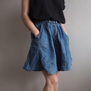 Jeans-kjol Stl S