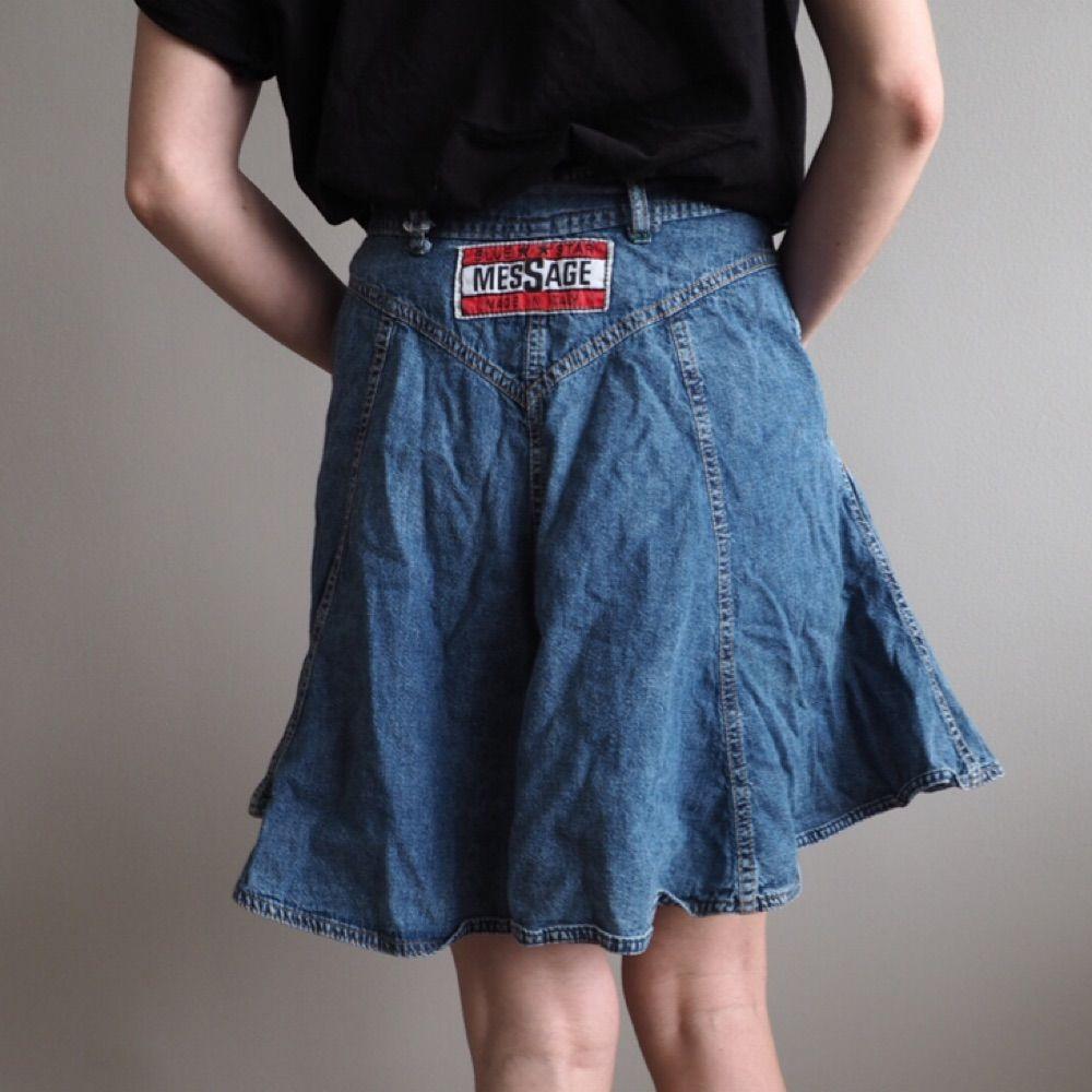 Jeans-kjol Stl S. Kjolar.