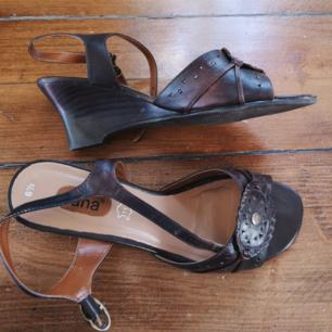 Retro sandaler, fint skick.