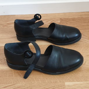 Genuine leather sandals from Camper. Very comfy for long summer walks, barely used.