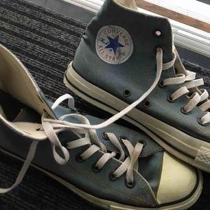 Coola Converse i 'jeans<3 strl 39.5 och mycket sparsamt använda!!