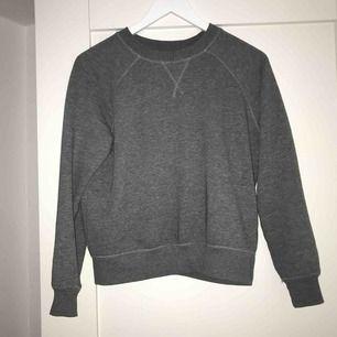 Snygg grå tröja! Fint skick! Lite crop top modell!