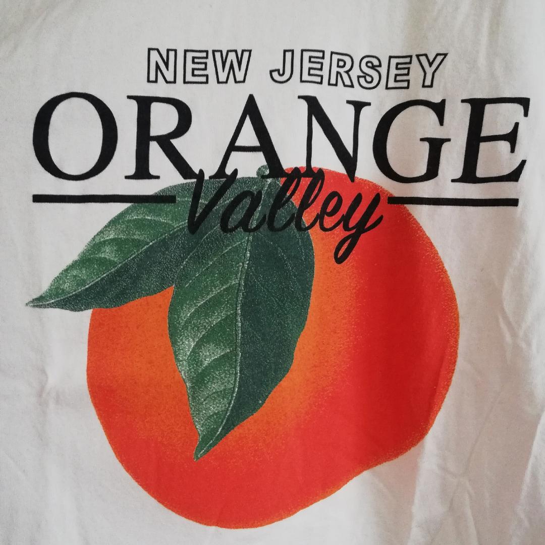 Vit t-shirt med tryck från Gina Tricot. Använd en gång! . T-shirts.