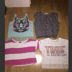 Lite kortare tröjor i bra skick allt säljs för 60kr tillsammans