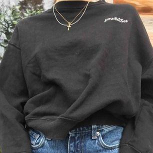 Gosig sweatshirt från hm.  Köparen står för frakt (: