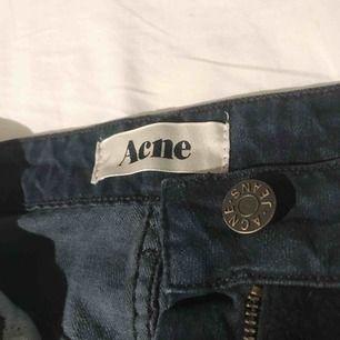 "Jeans/mocka-kjol från Acne ""rider skirt/desert night"" i storlek 40 (mer som en 38) frakt tillkommer ✨"