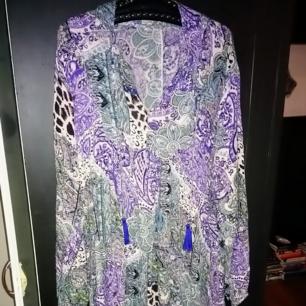 Maxi klänning från indiska, strl L men passar även större strl! Som ny☺️