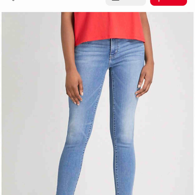 Säljer mina Levi's 711 (Skinny Jeans)   strl. W27. Jeans & Byxor.