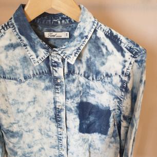 Häftig jeansskjorta, mjukt och skönt material