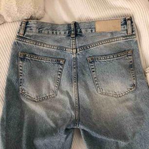 Nästan helt oanvända jeans från BikBok Nypris: 499