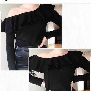 One shoulder tröja, använd fåtal ggr🌸🌸