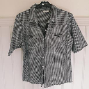 Cool retro skjortblus