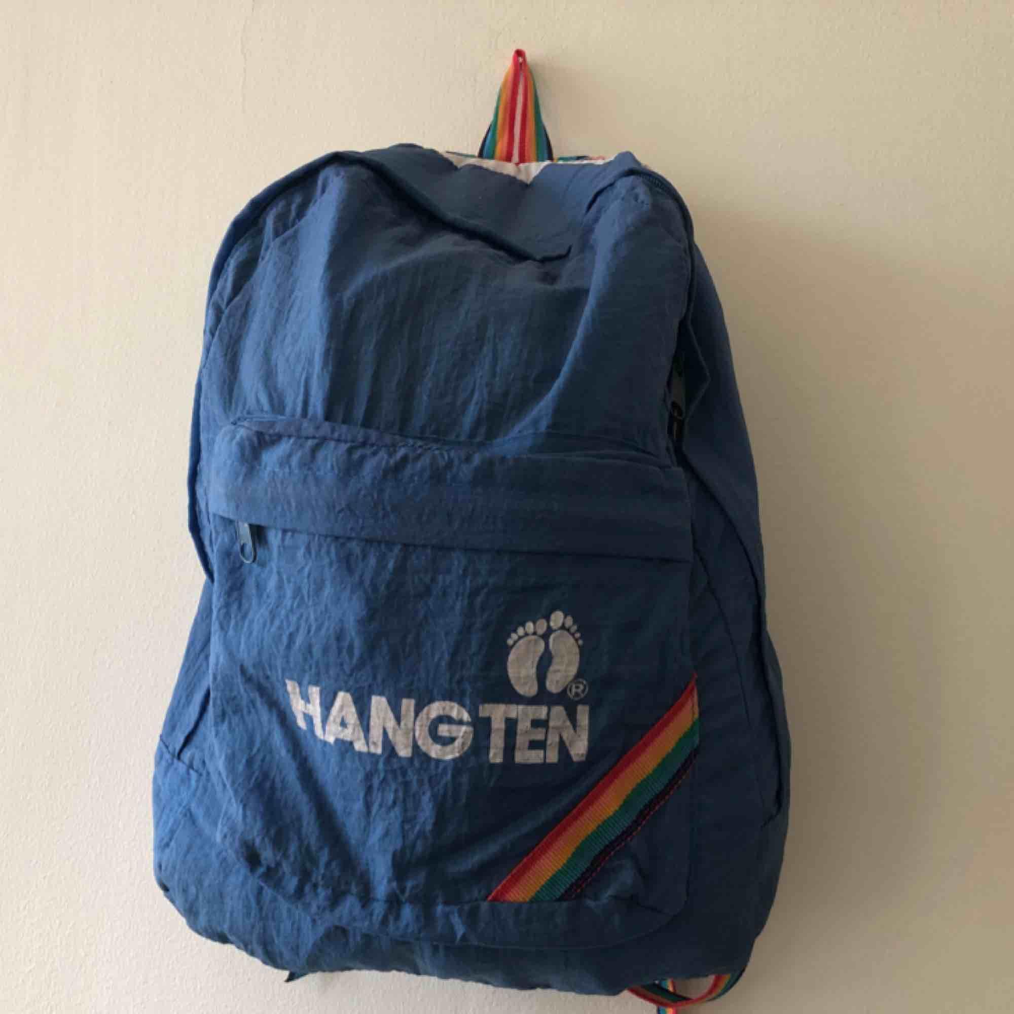 Vintage 80-tal ryggsäck från Hang Ten. Väskor.