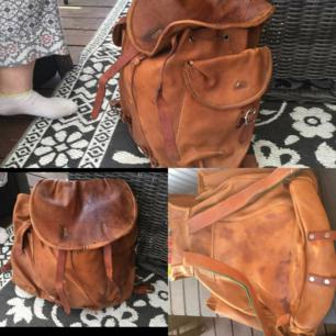 Renskinn ryggsäck
