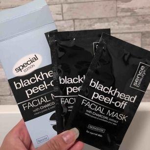 Blackhead peel-off facial mask - 2st kvar - köparen står för frakt