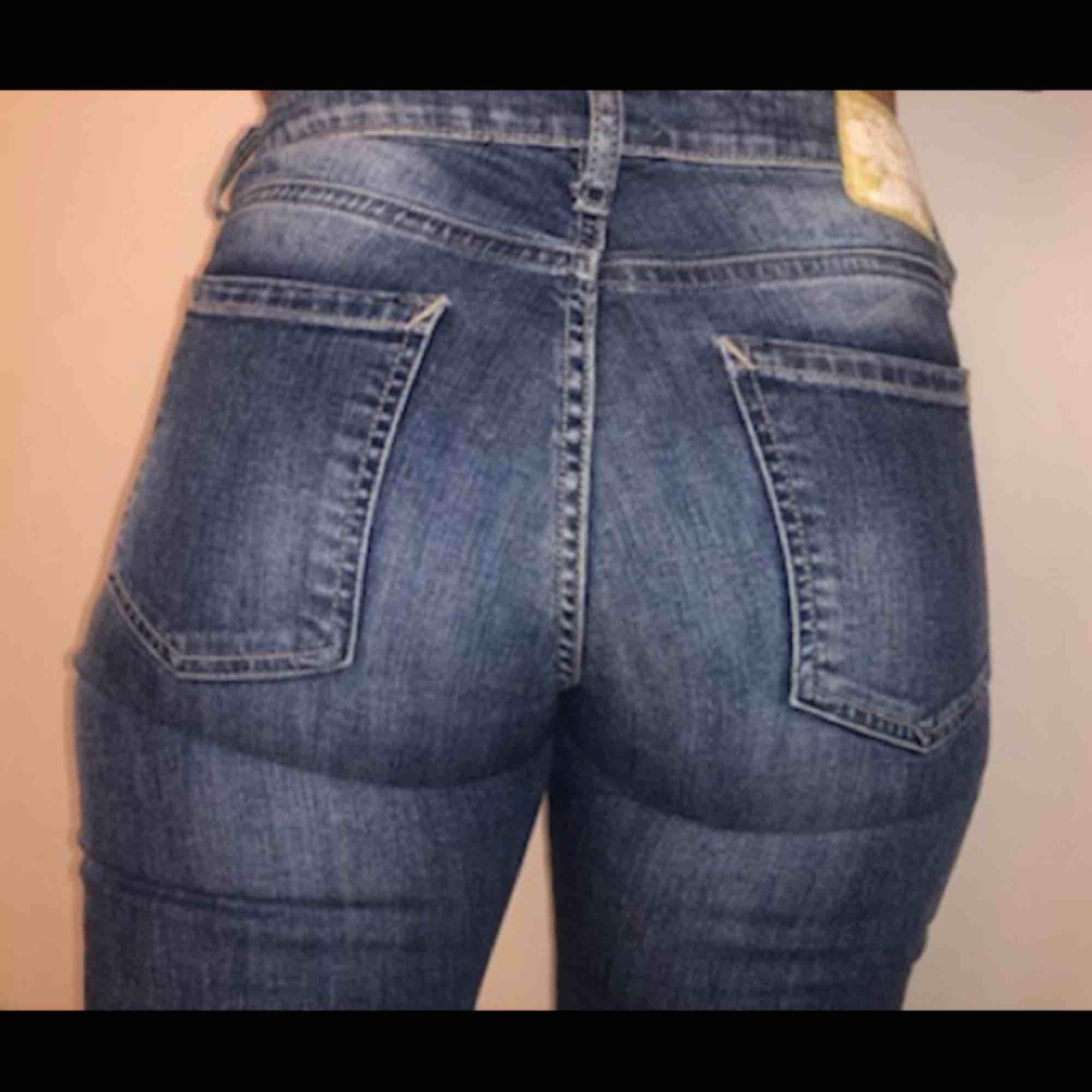 Sköna jeans från crocker, tyvärr lite för små så de kommer ej till användning.. Jeans & Byxor.