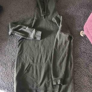 Jätteskön hoodie till klänning, grön🌸🌸
