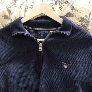 """Gant sweatshirt med """"half zip"""""""