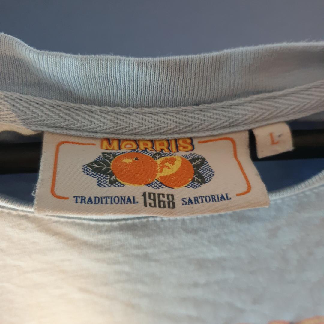 Morris orangeade tee baby blue Storlek L Cond 9/10 . T-shirts.