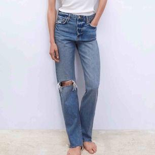 SVINSNYGGA jeans från Zara !!!!!! Beställde hem De från hemsidan men de var för små för runt midjan men wow va snygga de är!! Dessutom slutsålda överrallt!