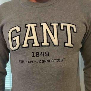 Gant tjocktröja i färgen Grå. (Använd fåtal gånger, som ny)