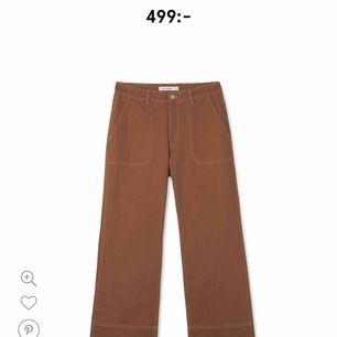Säljer min nya byxor från Carin Wester har knappt använd. I affärer så kostar byxa för 500kr säljer för 150kr🙂