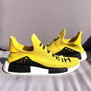 Säljer mina Human Race storlek 43.5  Priset är sänkt på grund av att skosnören inte finns och skorna är slitna. Kvitto finns.  Frågor tas privat.