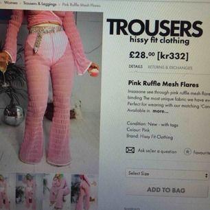 Brand nye bukser / leggings fra hissyfit tøj, aldrig brug. Kostet SEK 332 fra begyndelsen og jeg sælger dem til 200 kr. :) Mød i Stockholm eller sendes, når køberen betaler for fragt.