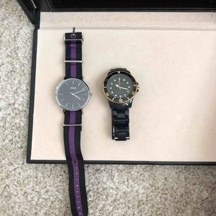 Säljer dessa två klockorna, ena från Regal andra från Visa.  Pris går att diskutera🌸