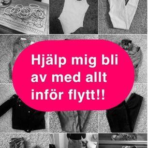 Vill bli av med så mycket som möjligt inför flytt! Kan mötas i Stockholm och frakta :)