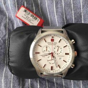 Helt ny Swiss Military klocka för män. Tyvärr tillkommer ingen box till klockan.. plast och prislapp finns kvar🤗🤗frakt få köparen stå för!