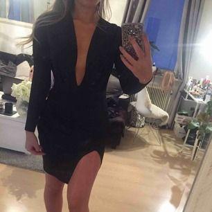 Tight klänning i bra tyg
